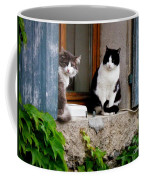 Waiting For Dinner Coffee Mug by Lainie Wrightson