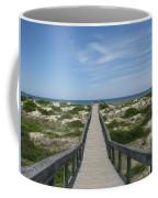 Waiting For Happy Feet Coffee Mug