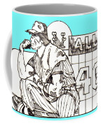 Waiting For The Call Coffee Mug by George Pedro