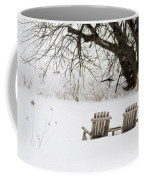 Waiting For The Right Season As An Oil Painting Coffee Mug