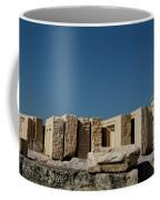 Waiting Tablets At Acropolis Coffee Mug