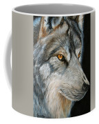Waiting Wolf Coffee Mug