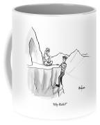 Waldo Speaks To A Guru Coffee Mug