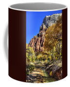 Walk Along The River Coffee Mug