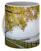 Walk Along The Shoreside Coffee Mug