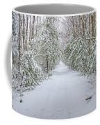 Walk In Snowy Woods Coffee Mug