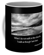Walk In The Clouds Coffee Mug