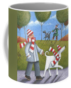 Walk In The Park Coffee Mug by Peter Adderley