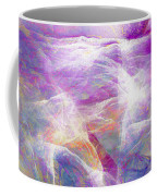 Walk On Water - Abstract Art Coffee Mug by Jaison Cianelli