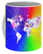 Walk The World Coffee Mug
