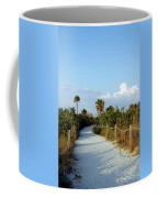 Walk Way To Beach Coffee Mug