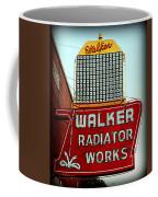 Walker Radiator Works Sign Coffee Mug