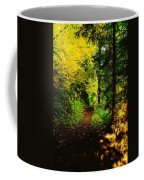 Walking An Autumn Path Coffee Mug