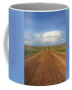 Walking Down Savageton Road Coffee Mug