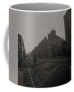 Walking Down The Street Coffee Mug