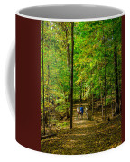 Walking In The Forest Coffee Mug