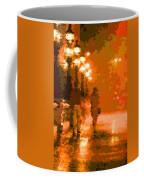 Walking In The Rain 02 Coffee Mug