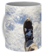 Walking In The Snow Coffee Mug