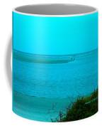Walking In The Water At Isle Of Palms Coffee Mug