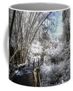 Walking Into The Infrared Jungle 2 Coffee Mug