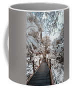 Walking Into The Infrared Jungle 3 Coffee Mug
