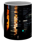 Walking Man - Architecture Of New York City Coffee Mug