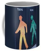 Walking Man Symbol Coffee Mug