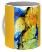 Walking On Sunshine - Abstract Painting By Sharon Cummings Coffee Mug