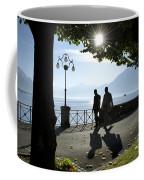Walking On The Lakefront Coffee Mug
