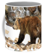 Walking On The Rocks Coffee Mug