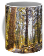 Walking Small In The Tall Forest Coffee Mug