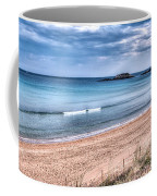 Walking The Beach On A Peaceful Morning Coffee Mug