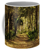 Walking The Bluff Artistic Coffee Mug