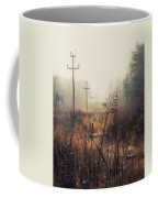 Walking The Lines Coffee Mug