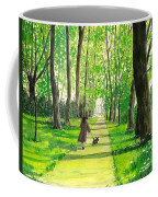 Walking The Scottie Coffee Mug