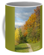 Walking Through Autumn Coffee Mug