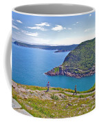 Walking Trails Everywhere In Signal Hill National Historic Site In St. John's-nl  Coffee Mug
