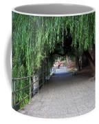 Walkway By The River Coffee Mug