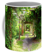 Walkway Coffee Mug by Carey Chen