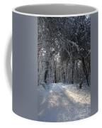 Walkway In Black And White Coffee Mug