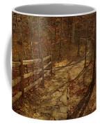 Walkway Through The Forest Coffee Mug
