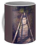 Walkway Through The Reeds Appalachian Trail Coffee Mug by Edward Fielding