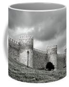 Wall Against Clouds Coffee Mug