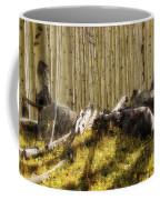 Wall Of Aspens  Coffee Mug