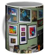 Wall Of Framed Coffee Mug