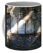 Wall Of Tombstones Knocked Down During Civil War Coffee Mug