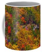 Wall Of Trees Coffee Mug