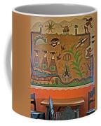Wall Painting In Painted Desert Inn Cafe In Petrified Forest National Park-arizona  Coffee Mug
