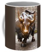 Wall Street Bull Coffee Mug