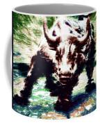 Wall Street Bull - Typography Coffee Mug